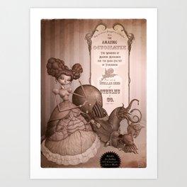 Octomatix Art Print