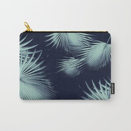 Fan Palm Leaves Paradise #9 #tropical #decor #art #society6 Carry-All Pouch