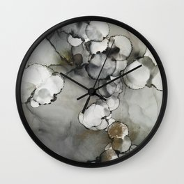 The Fog Whispers Softly Wall Clock