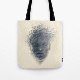 whitenoise Tote Bag