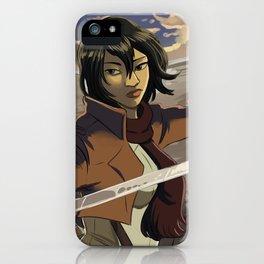 Mikasa iPhone Case