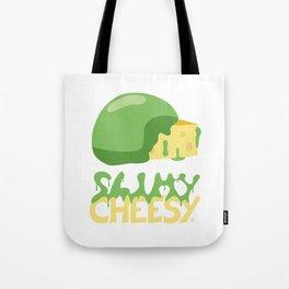 Slimy cheesy Tote Bag