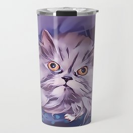 The Persian Cat Travel Mug