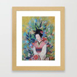 always a maiko Framed Art Print