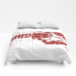Red lobster Comforters