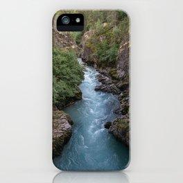 Alaska River Canyon - I iPhone Case