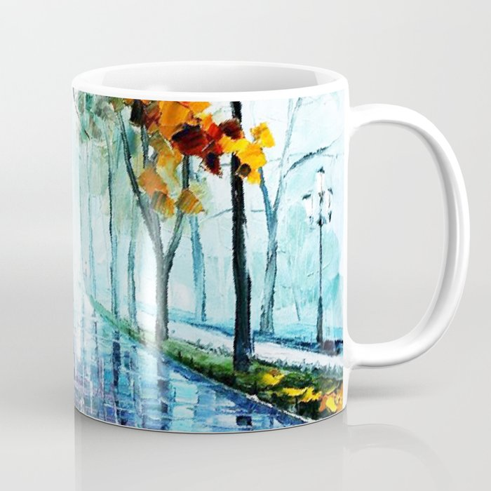 Tardis And The Street Chair Coffee Mug