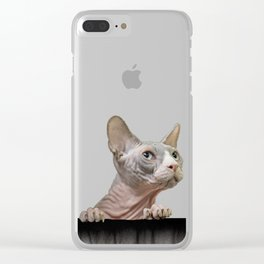Night Dreamer Clear iPhone Case