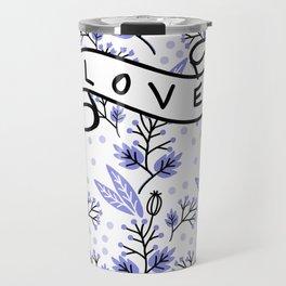 Winter Love Travel Mug