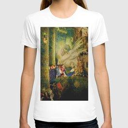 Sleeping Beauty The Aged King Pleads with the Good-Fairy Fairy Tale Portrait by Leon Bakst T-shirt