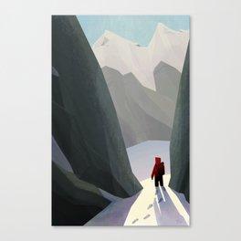 Hiking Canvas Print