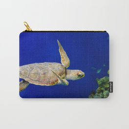 Sea Turtle 1 Marine Animal / Underwater Wildlife Photograph Carry-All Pouch