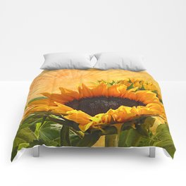 Good Morning Sunflower Comforters