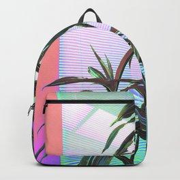 Neon Indoor Plants Backpack