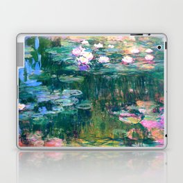 water lilies : Monet Laptop & iPad Skin