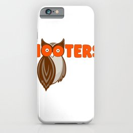 hooters iPhone Case