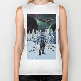 Visitor from Outer Space Biker Tank