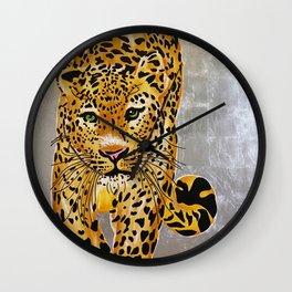 Jaguar Pachamama Wall Clock
