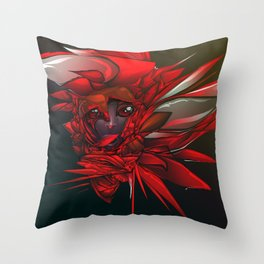 Wild Flower Z Throw Pillow