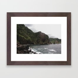 Small Cove Framed Art Print