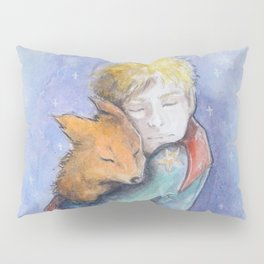 The little Prince and the fox Pillow Sham