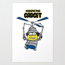 Minspector Gadget Art Print