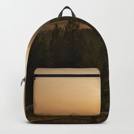 Sunset in the Mountains Backpack