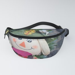 Smiling Scarecrow Fanny Pack