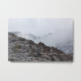 Mysterious Mountains Metal Print