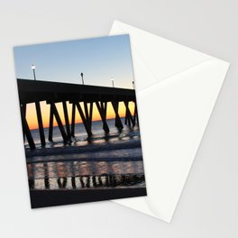 Alone On The Pier Stationery Cards