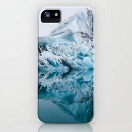 Jökulsárlón Glacier Lagoon iPhone Case