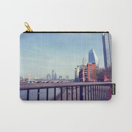 Vintage london skyline Carry-All Pouch