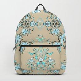 Vintage Floral - Light Blue Backpack