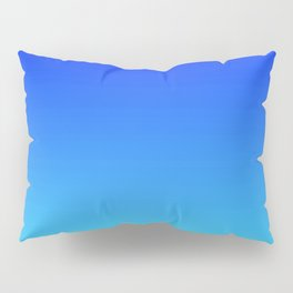 Caribbean Water Gradient Pillow Sham