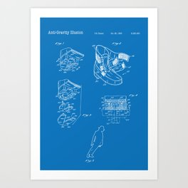 Anti-Gravity Art Print