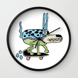 The Skate Pup Wall Clock