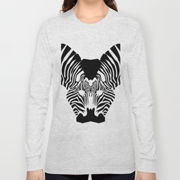 Zebra kiss Long Sleeve T-shirt