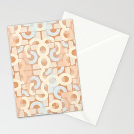 Pastel Retro Decor #society6 #buyart Stationery Cards