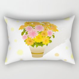 Bouquet of asters Rectangular Pillow