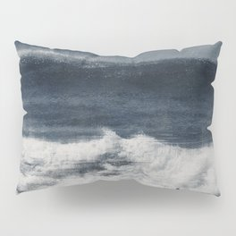Wave Distortions - Abstract Seascape Pillow Sham
