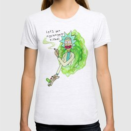 riggity riggity ripped T-shirt
