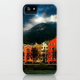 Innsbruck houses iPhone Case