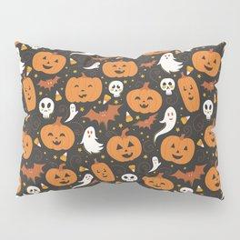 Pumpkin Party - Black Pillow Sham