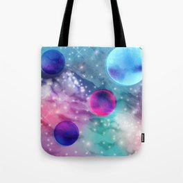 Vaporwave Pastel Space Mood Tote Bag
