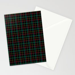 Red and green plaid Stationery Cards
