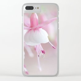 Pale Beauty Clear iPhone Case