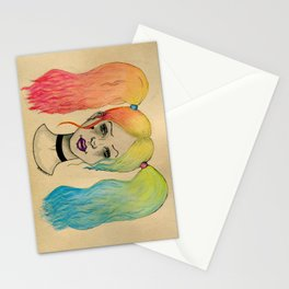 HARLEY QUINN FANART  Stationery Cards