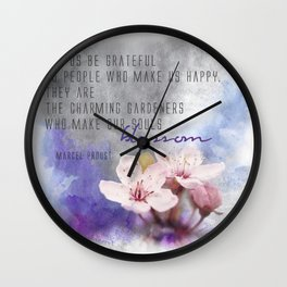 Our Charming Gardeners Wall Clock