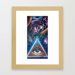 Thought Crime Framed Art Print