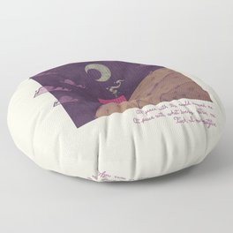 At Peace Floor Pillow